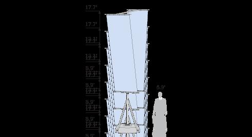T-PoleBasicParallelArm_Blue_Sketch